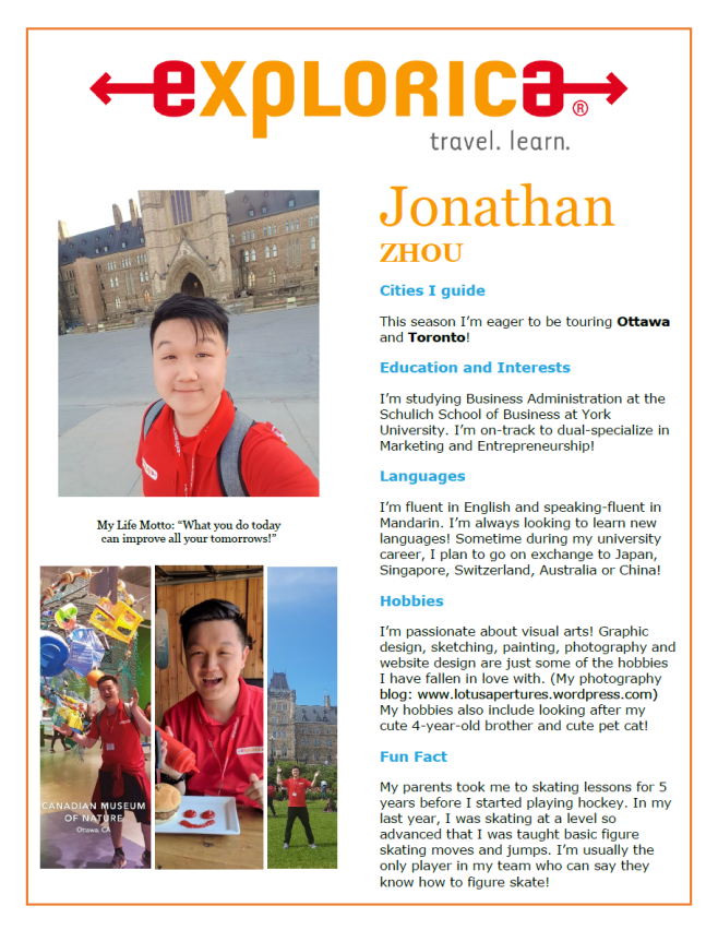 Explorica Profile